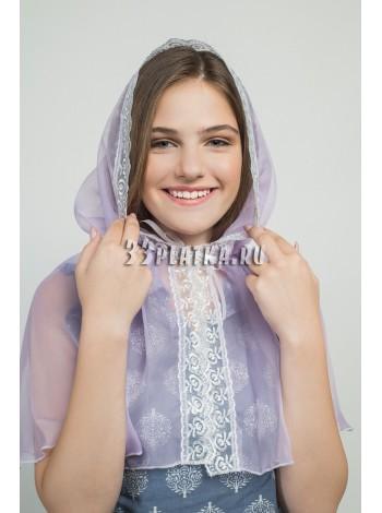 Ниспадающий платок фиалка