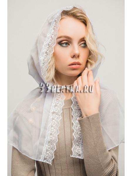 Ниспадающий платок бледно-сиреневый