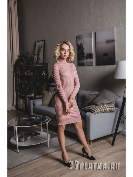 Платье c горловиной 42-46 р-р