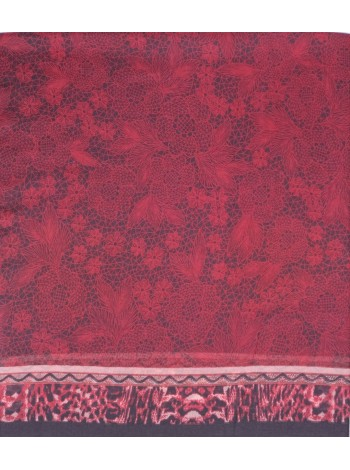 платок из шерсти и модала